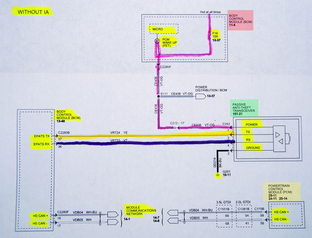 hight resolution of wiring diagram for the transceiver bcm and pcm circuits notice the lack of signal information in this schematic it s