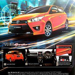 Toyota Yaris Trd Terbaru Ukuran Ban Grand New Avanza Veloz Harga Surabaya Februari 2016