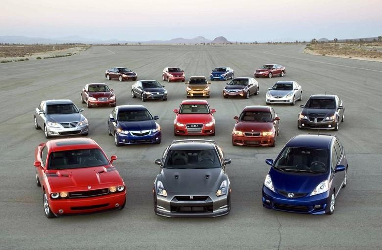 выбор автомобилей