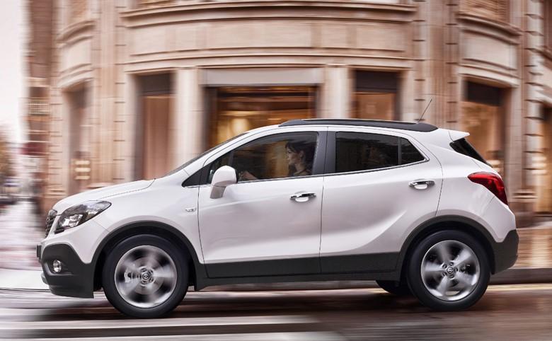 рестайлинговый Opel Antara
