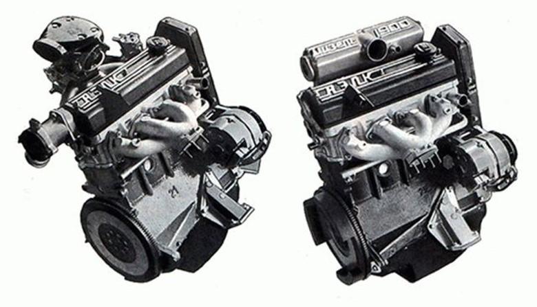 Два типа двигателя