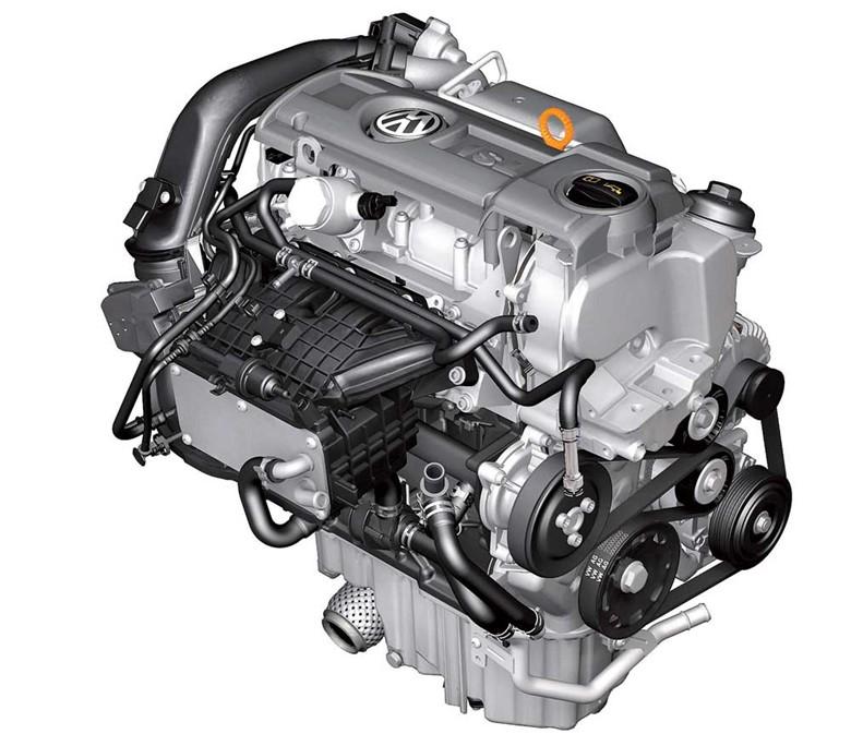 двигатель бензиновый, фото