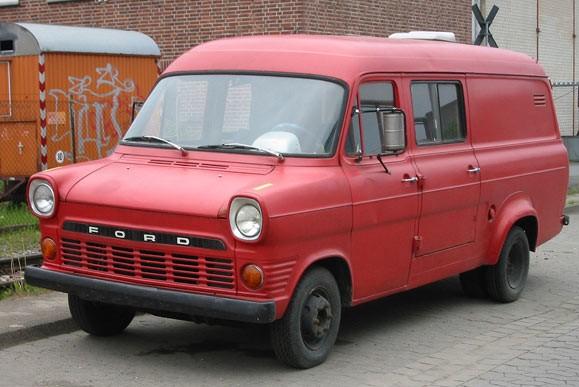 Второе поколение Ford Transit