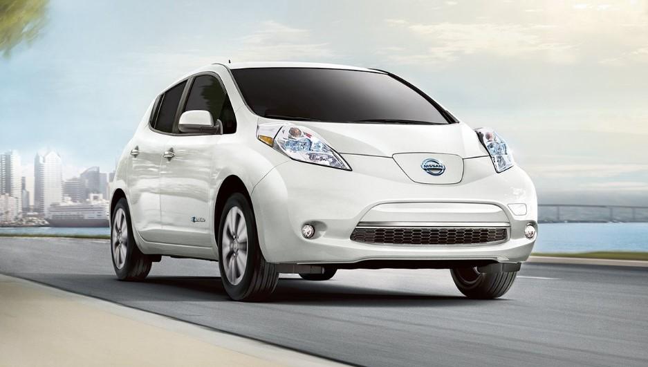 Nissan leaf, фото