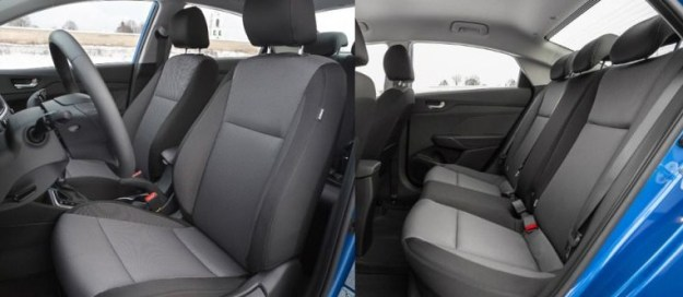 Удобство и эргономика Hyundai Solaris