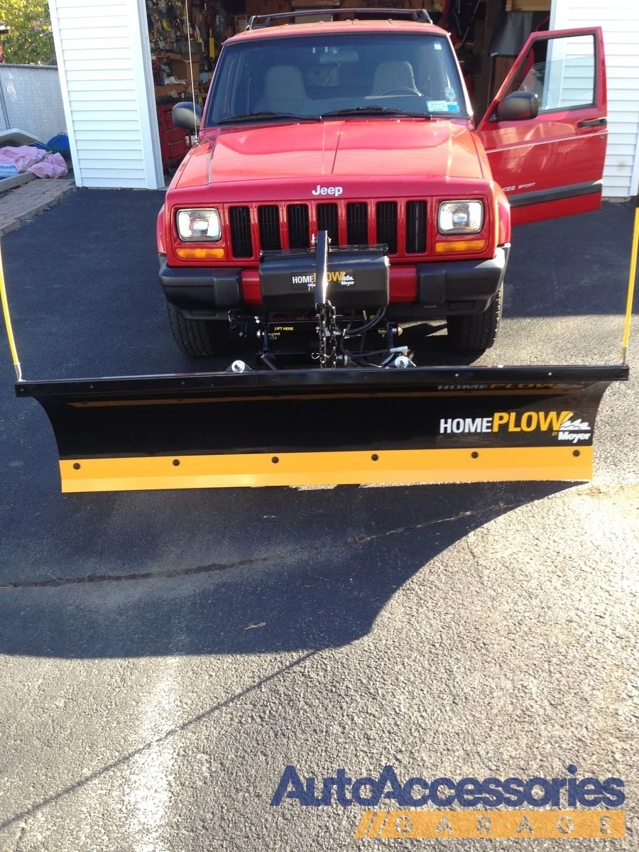 Plow For Jeep : Meyer, Shipping, Plows
