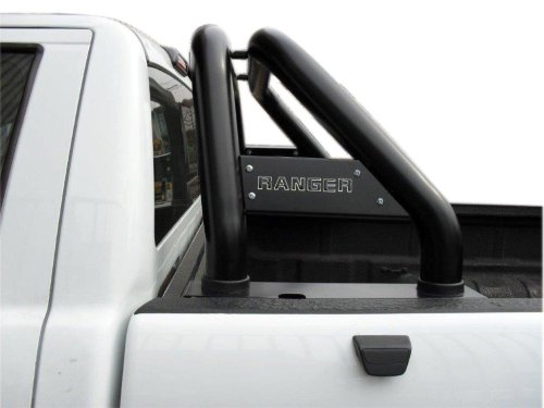 small resolution of ford ranger t6 black powder coated roll bar fits single cab double cab and extended cab