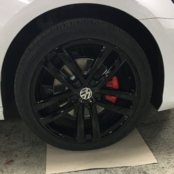 Gloss Painted Wheel VW