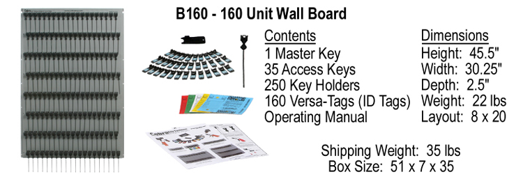 Cobra Key System Wall Board