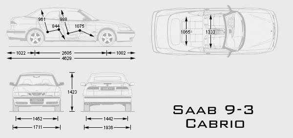 Auto Saab 9-3 Cabrio : Bild Bild zeigt Abbildung