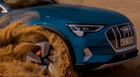 Audi q4 e tron all electric SUV performance