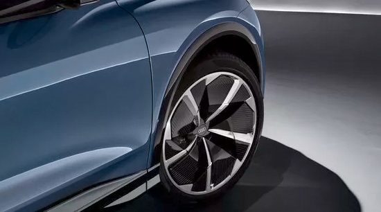 Audi q4 e tron all electric alloy rims