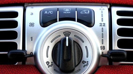 Car AC air conditioning gas mileage