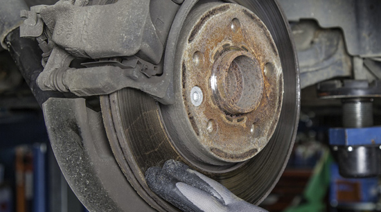 Shaking car from out of round brake rotors