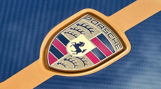 The Volkswagen group Porsche brand vehicles