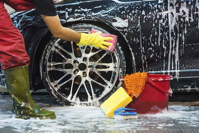 Clean Your Car Tires