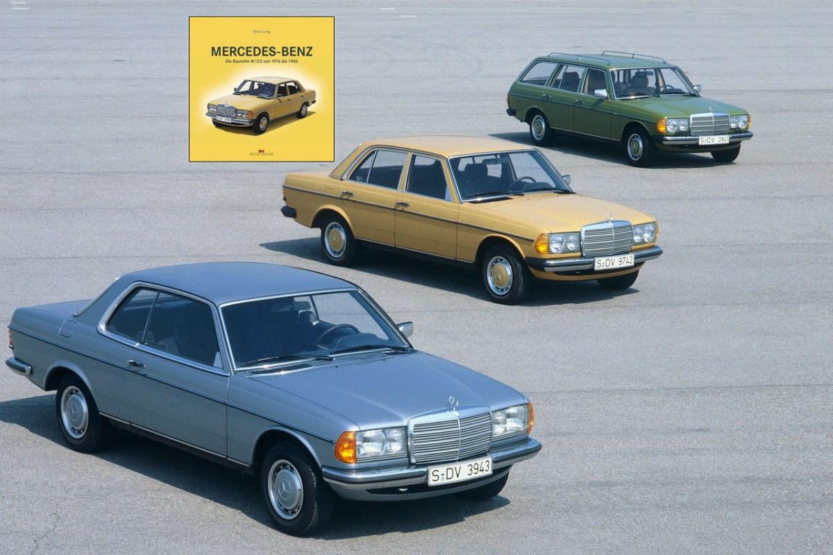 Buchbesprechung – Mercedes-Benz W123