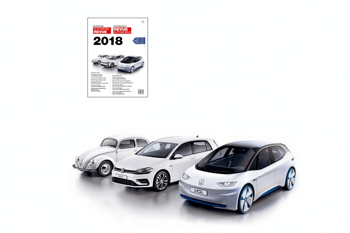 Buch – Katalog der Automobil Revue 2018