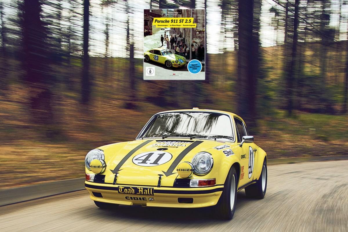 Buch – Porsche 911 ST 2.5