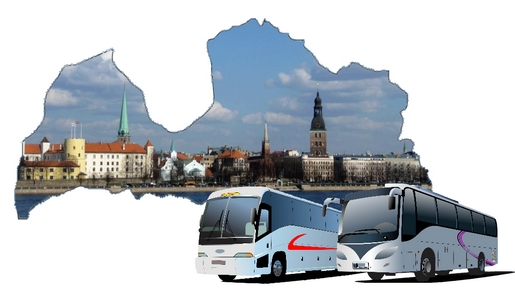 Autobusu noma Latvijā