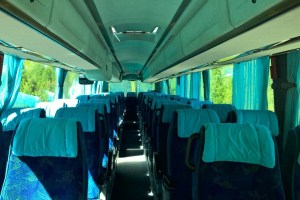 Autobusu noma, bus rent – SCANIA IRIZAR interior