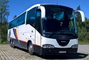 Autobusu noma, bus rent – SCANIA IRIZAR
