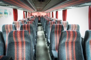 Autobusu noma, bus rent – SETRA interior