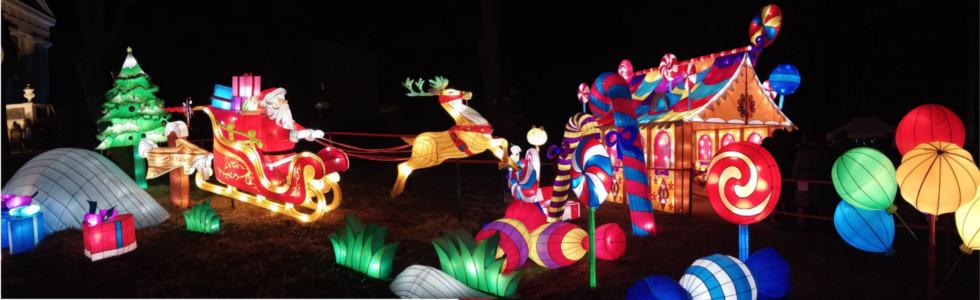 Gaismas festivāls Lielās Ķīnas laternas 28.12.2019.