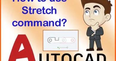 AutoCAD Stretch