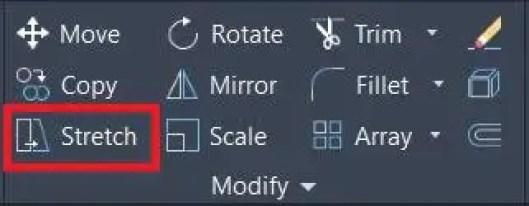 Modify panel