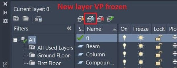 New layer VP Frozen