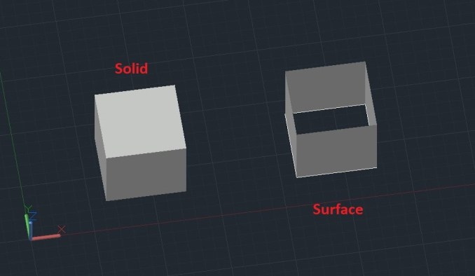 Extrude Solid and Surface - AutoCAD 3D (extrude autocad)