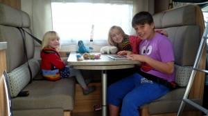 Familieferie med børn
