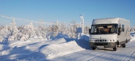 Vinterdæk og pigdæk autocamper