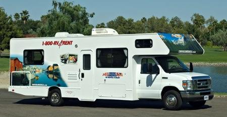 Cruise-Americas-autocamper leje i Los Angeles