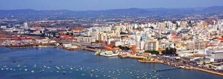 Faro er hovedstaden i Algarve regionen