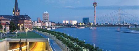 Düsseldorf, Tyskland leje af autocamper