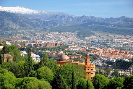 Leje Autocamper Granada Spanien.