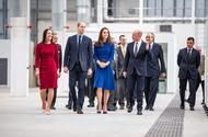 Duke And Duchess Of Cambridge Open New Mclaren Production Facility