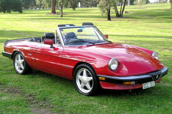 Classical 1986 Alfa Romeo Spider Veloce Review