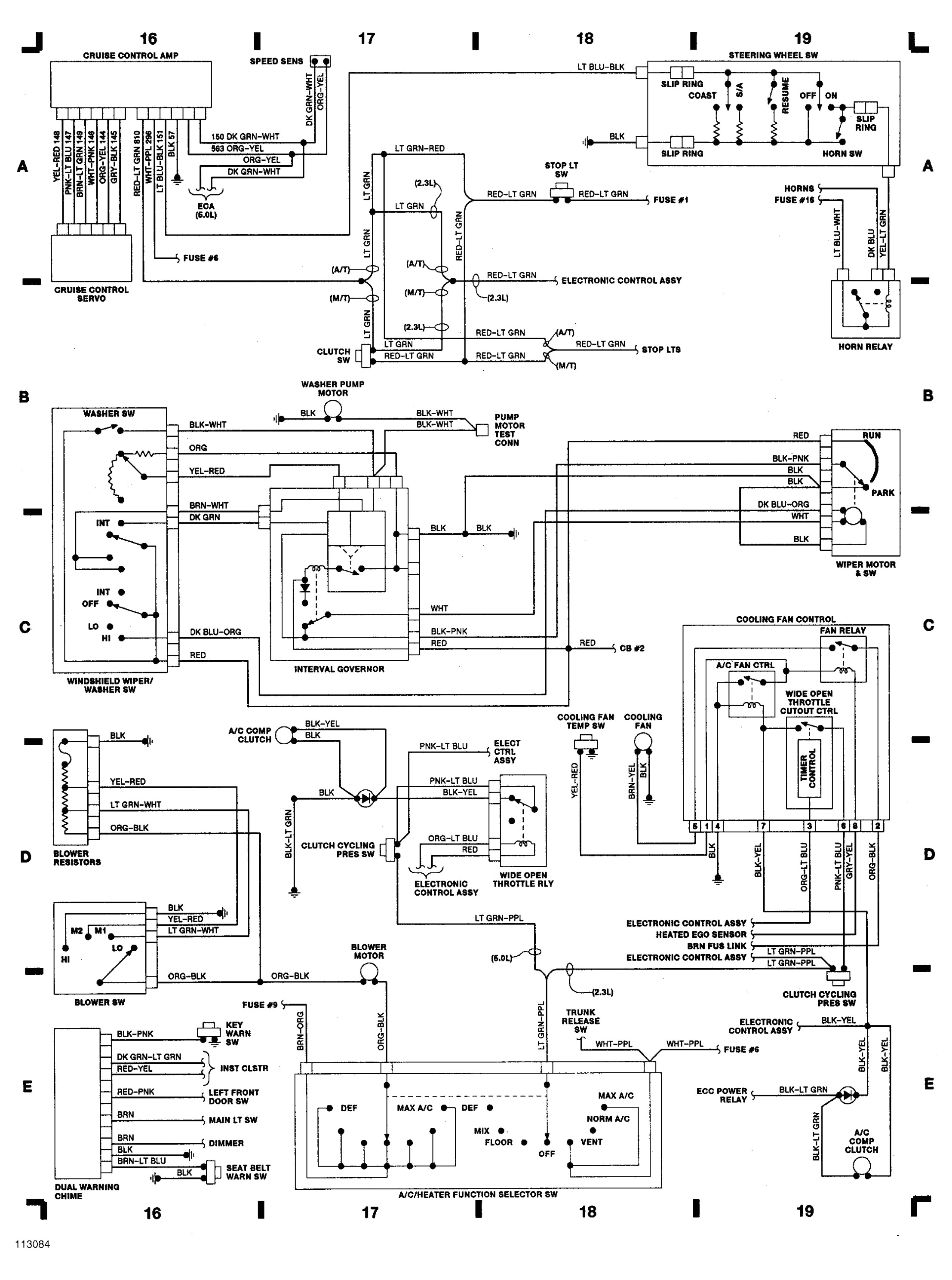 1965 Mustang Wiring Harness Diagram