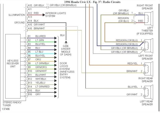 2013 honda civic stereo wiring diagram  center wiring