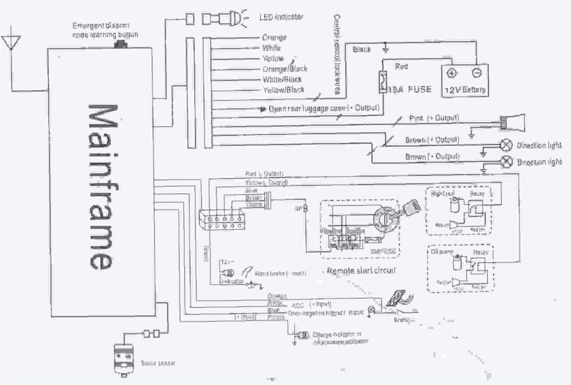 Security System Wiring Diagram
