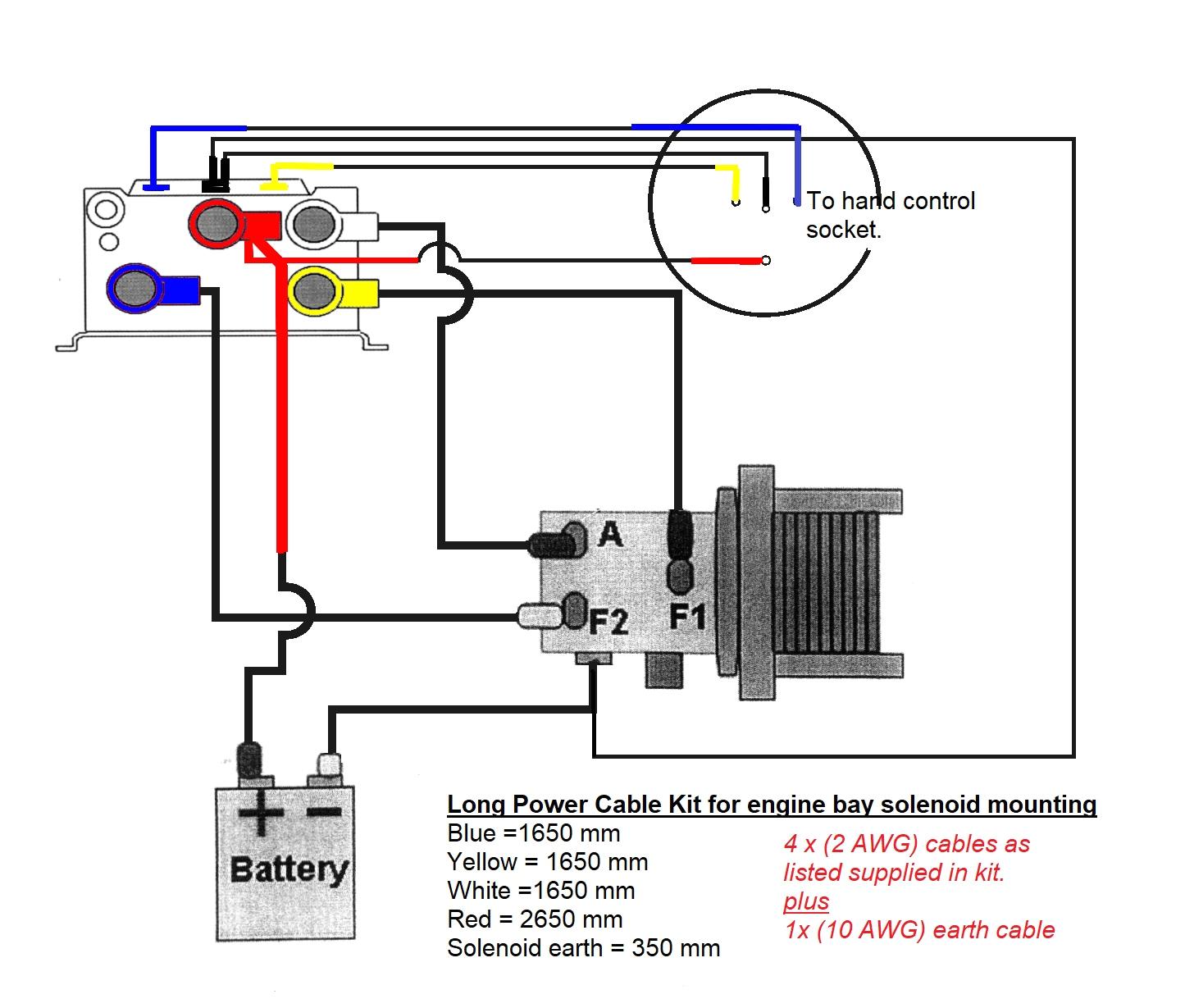Warn A2000 Wiring Diagram