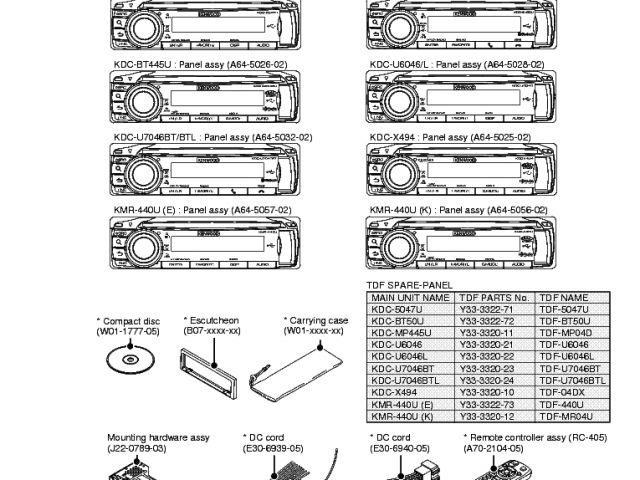 Kenwood Kdc Bt310u Wiring Diagram Kenwood Kdc Bt318u