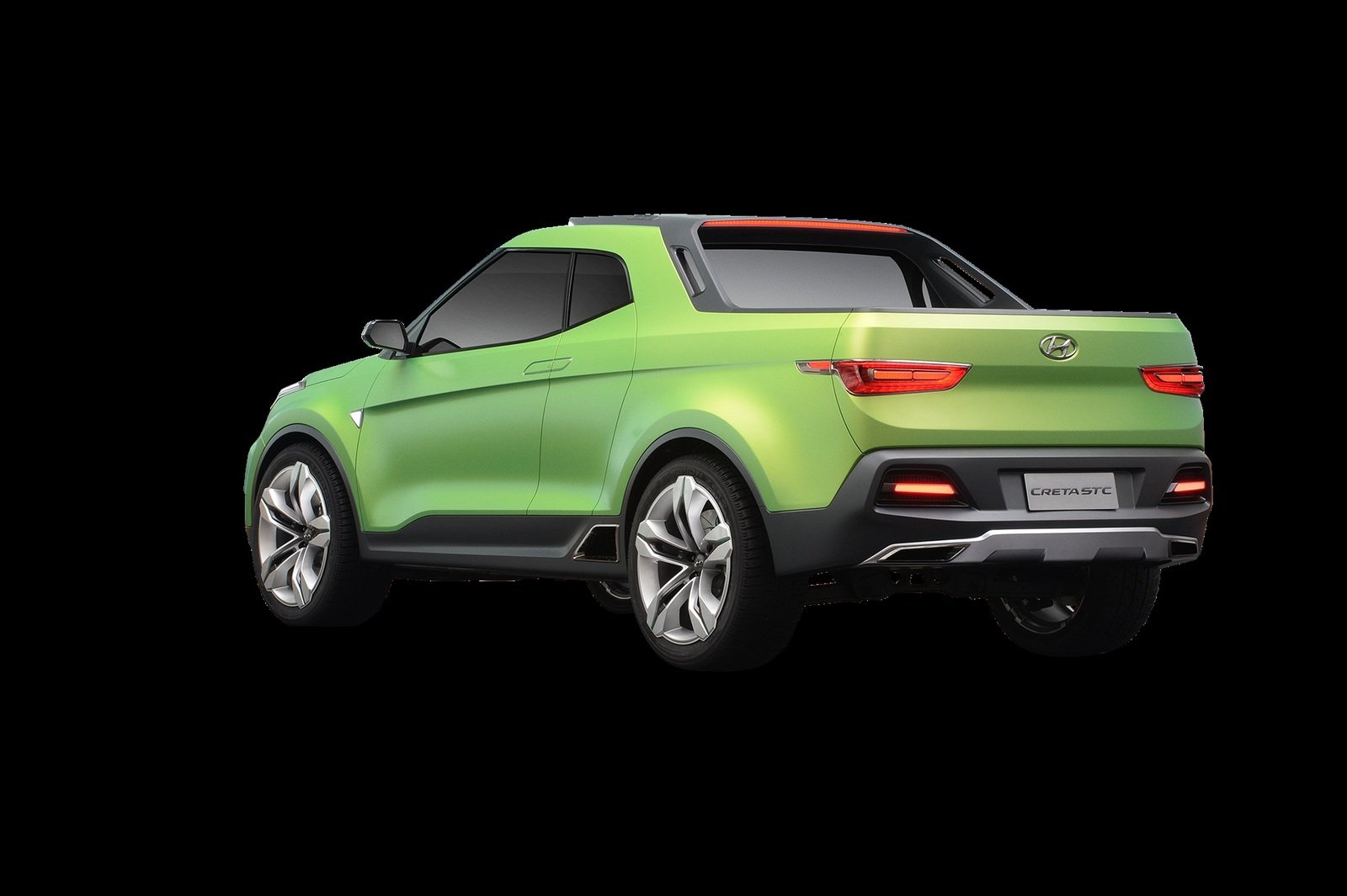 Hyundai Creta Pickup Concept Shown For The First Time