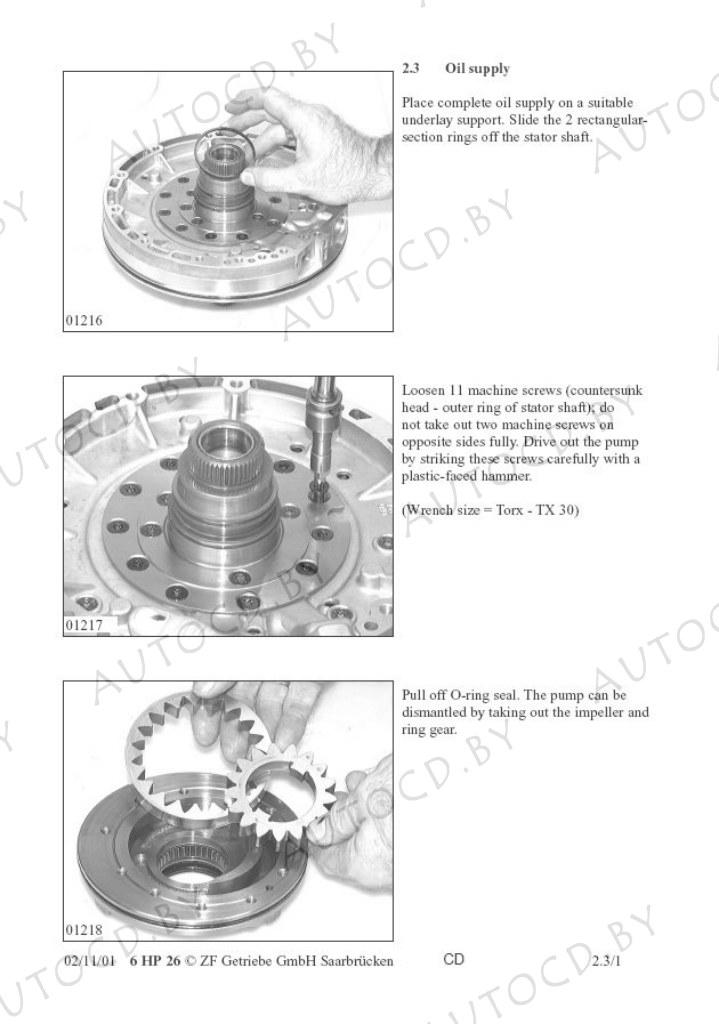 Руководство по ремонту коробок передач ZF Automatic