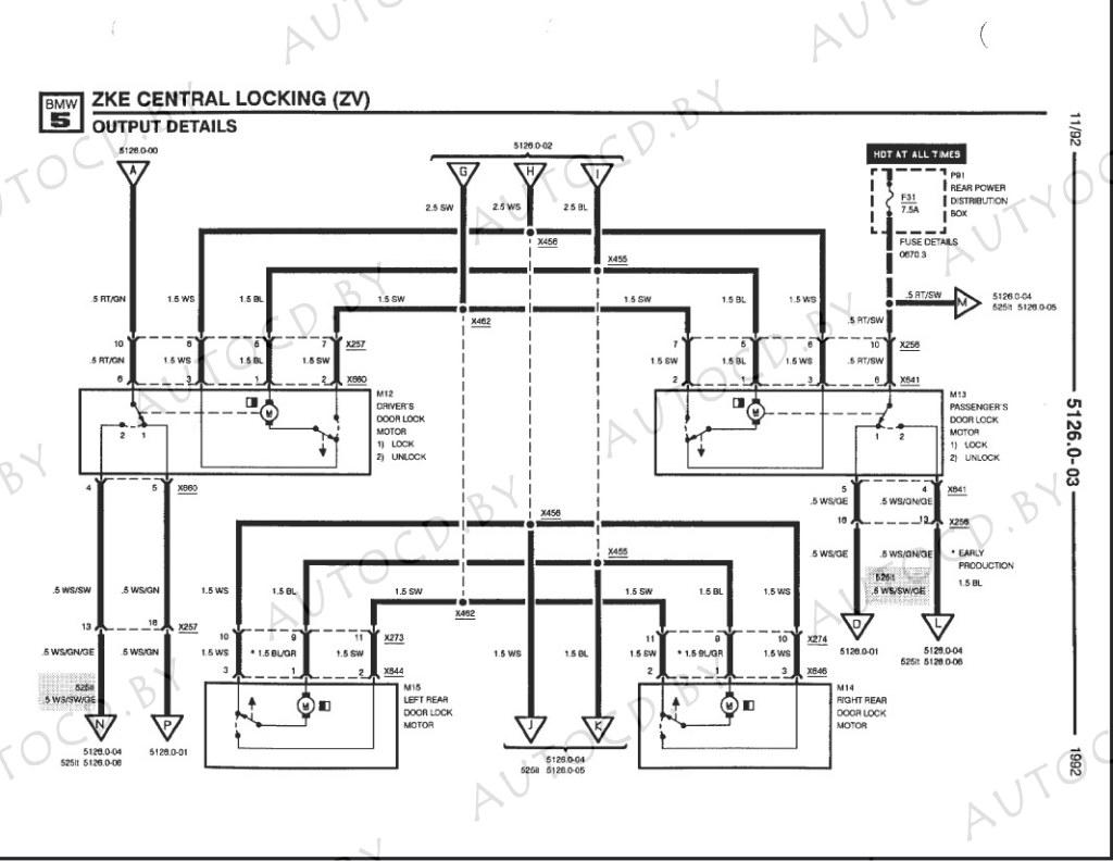Руководство по электрике BMW (БМВ), электросхемы BMW
