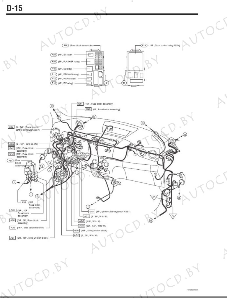 Daihatsu Materia ремомнт, эксплуатация, электрические