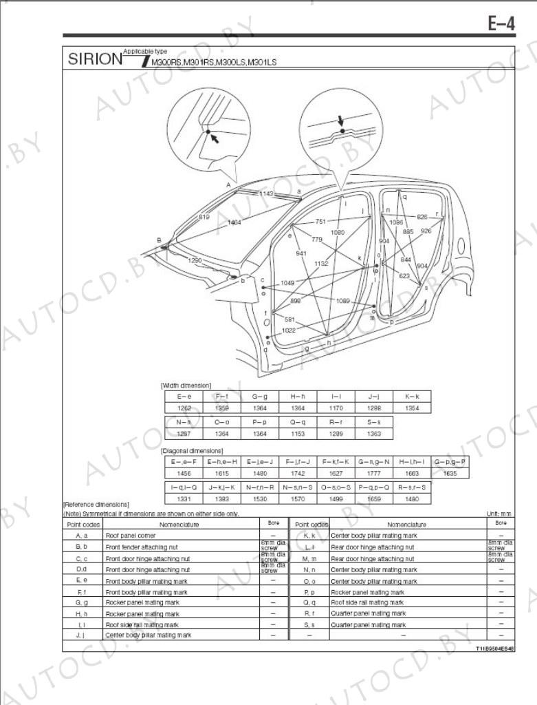Daihatsu Sirion ремомнт, эксплуатация, электрические схемы